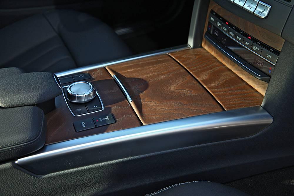 Mercedes-Benz E 350 Bluetec mittelkonsole interieur