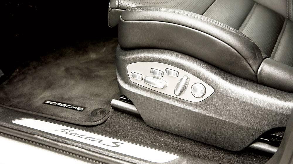 porsche macan s diesel 2014 sitz sitzverstellung