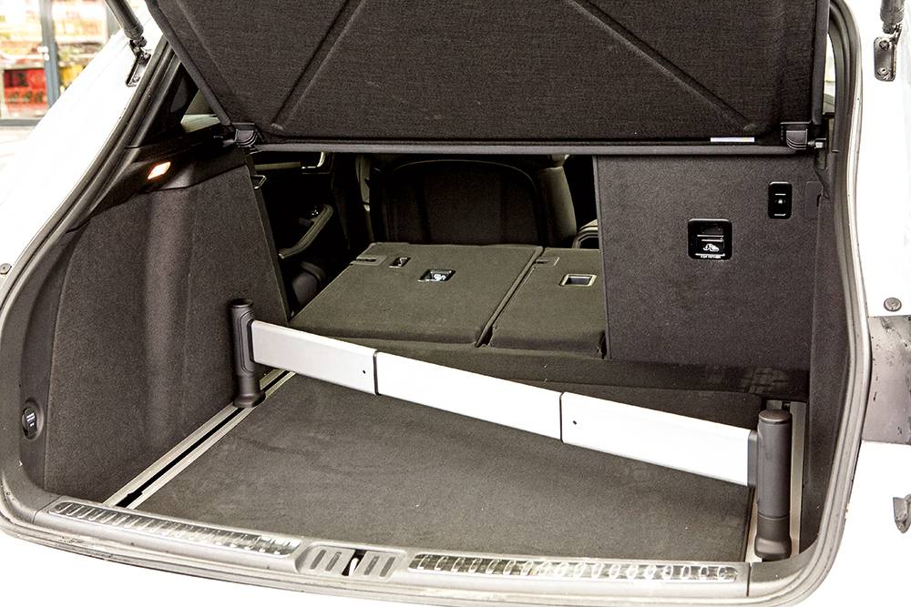 porsche macan s diesel 2014 kofferraum laderaum