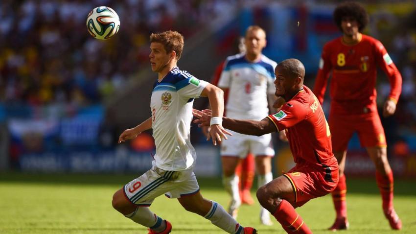 Belgien gegen Russland