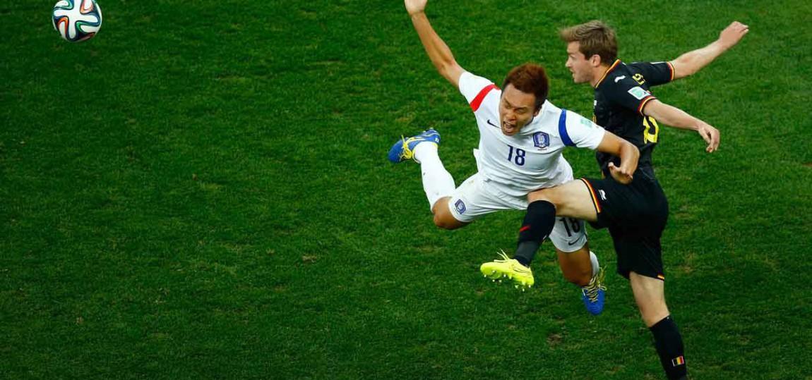 Belgien gegen Südkorea