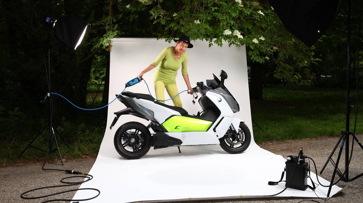 bmw c evolution 2014 ladekabel