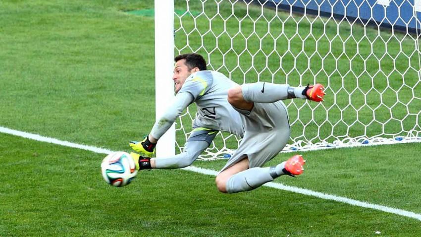 Julio Cesar bei der WM 2014