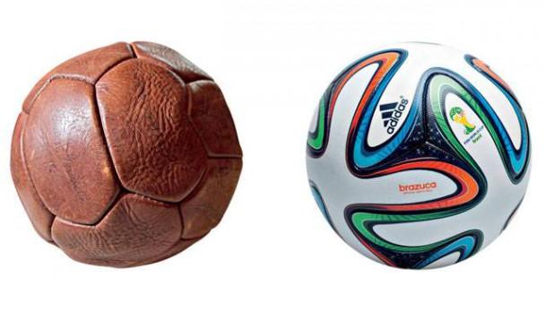"""Der """"Super Duplo T"""" und der """"Brazuca"""" / Bild: © Agência Estado / Adidas"""