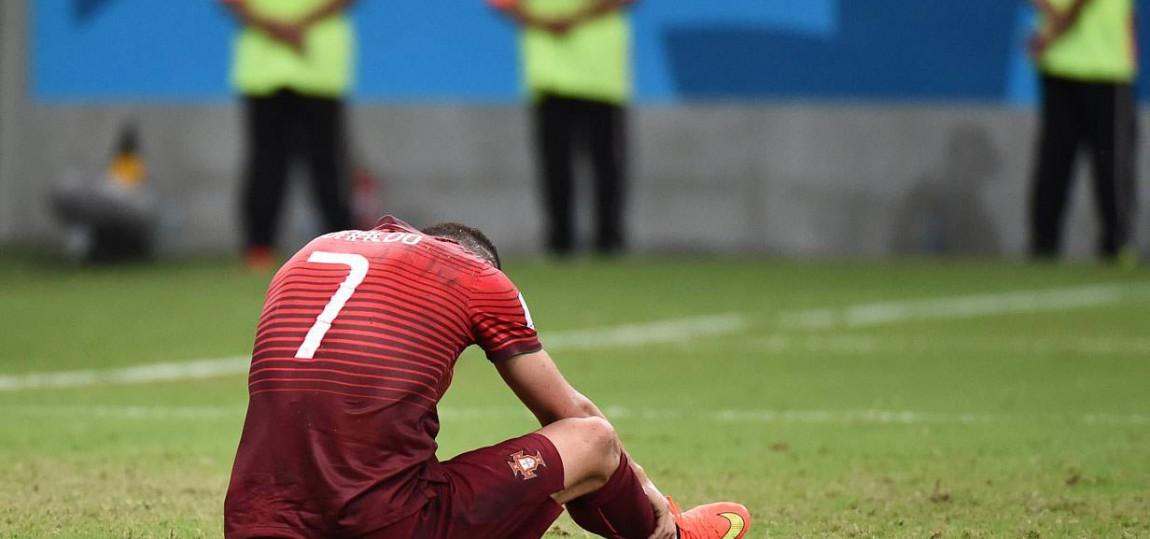 Christiano Ronaldo bei der WM 2014