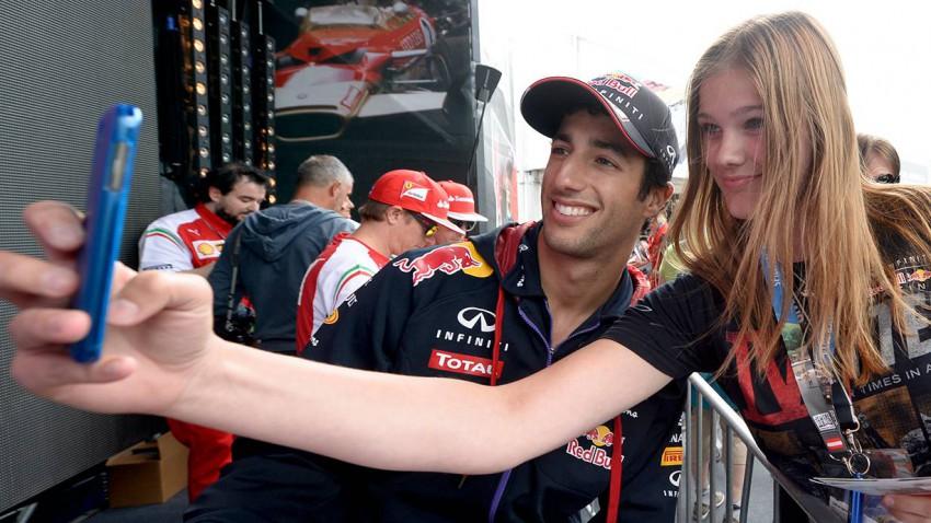 Am Red Bull Ring herrscht bei allen derzeit ausgelassene Stimmung. © HERBERT NEUBAUER / APA / picturedesk.com