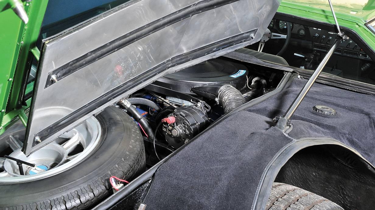 de tomaso mangusta 1967 grün motor