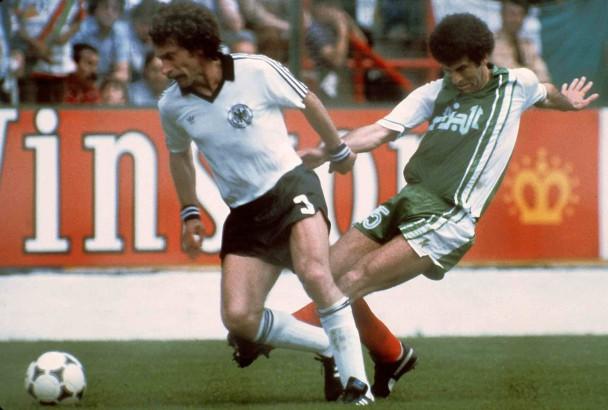 1982 gewann Algerien in der Vorrunde 2:1 gegen Deutschland.