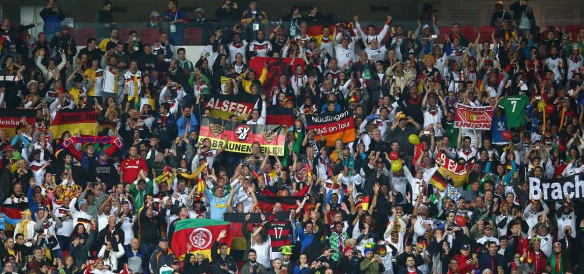 Deutschland-Fans in Brasilien