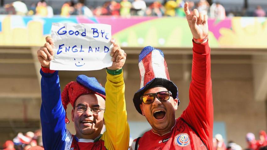England bei der WM 2014 ausgeschieden