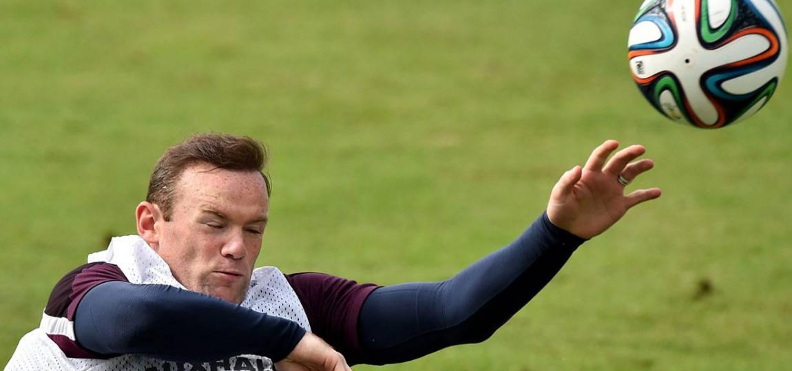 England Rooney WM 2014