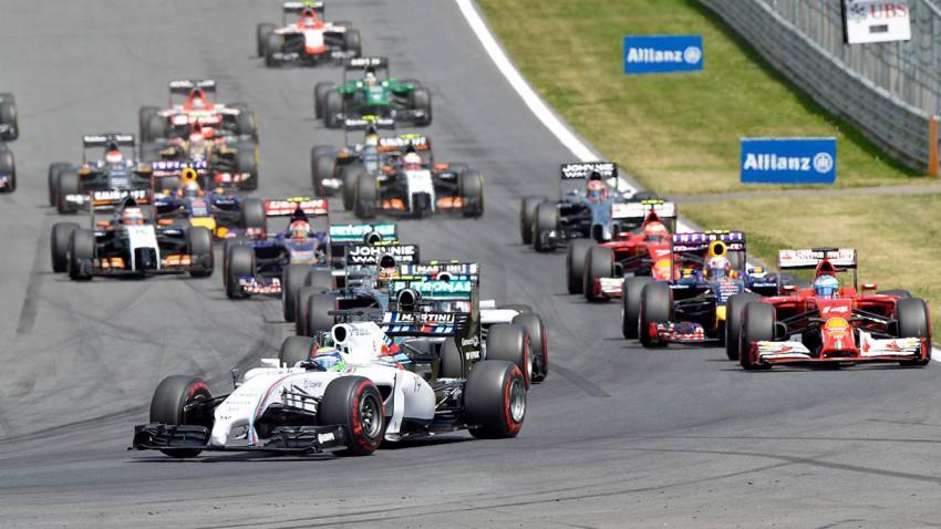 Die Williams haben Mercedes das Rennen schwer gemacht. © HERBERT NEUBAUER / APA / picturedesk.com