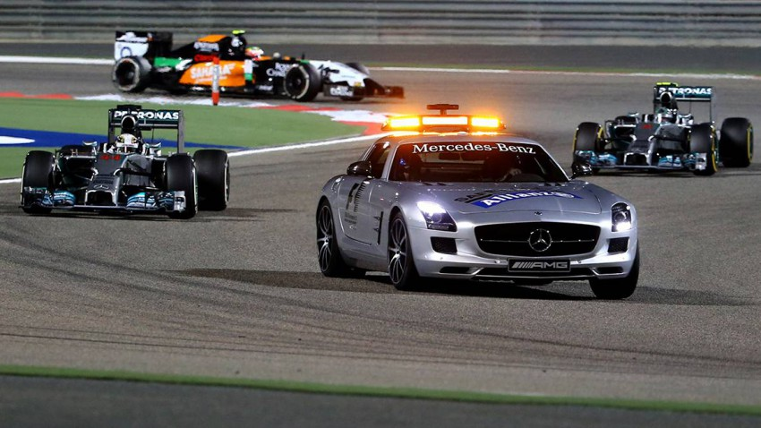 safety car formel 1