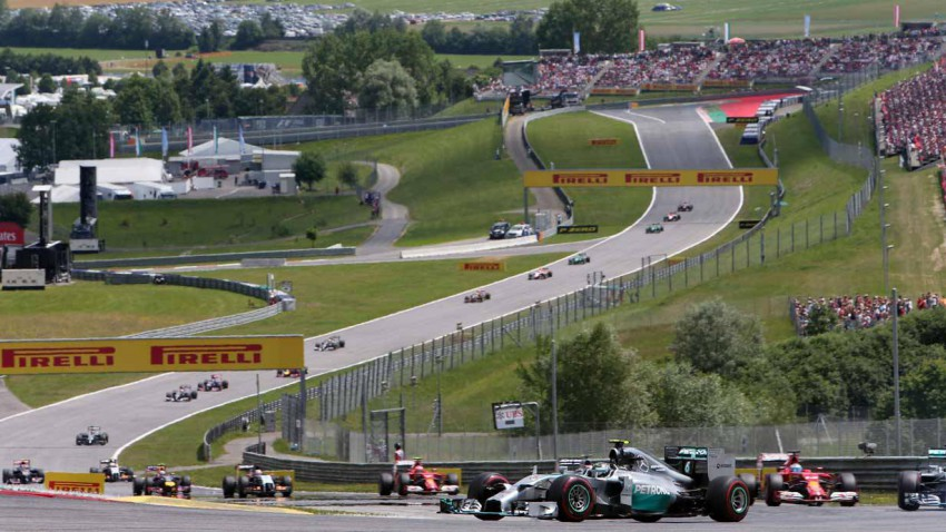 Formel 1 Spielberg 2014