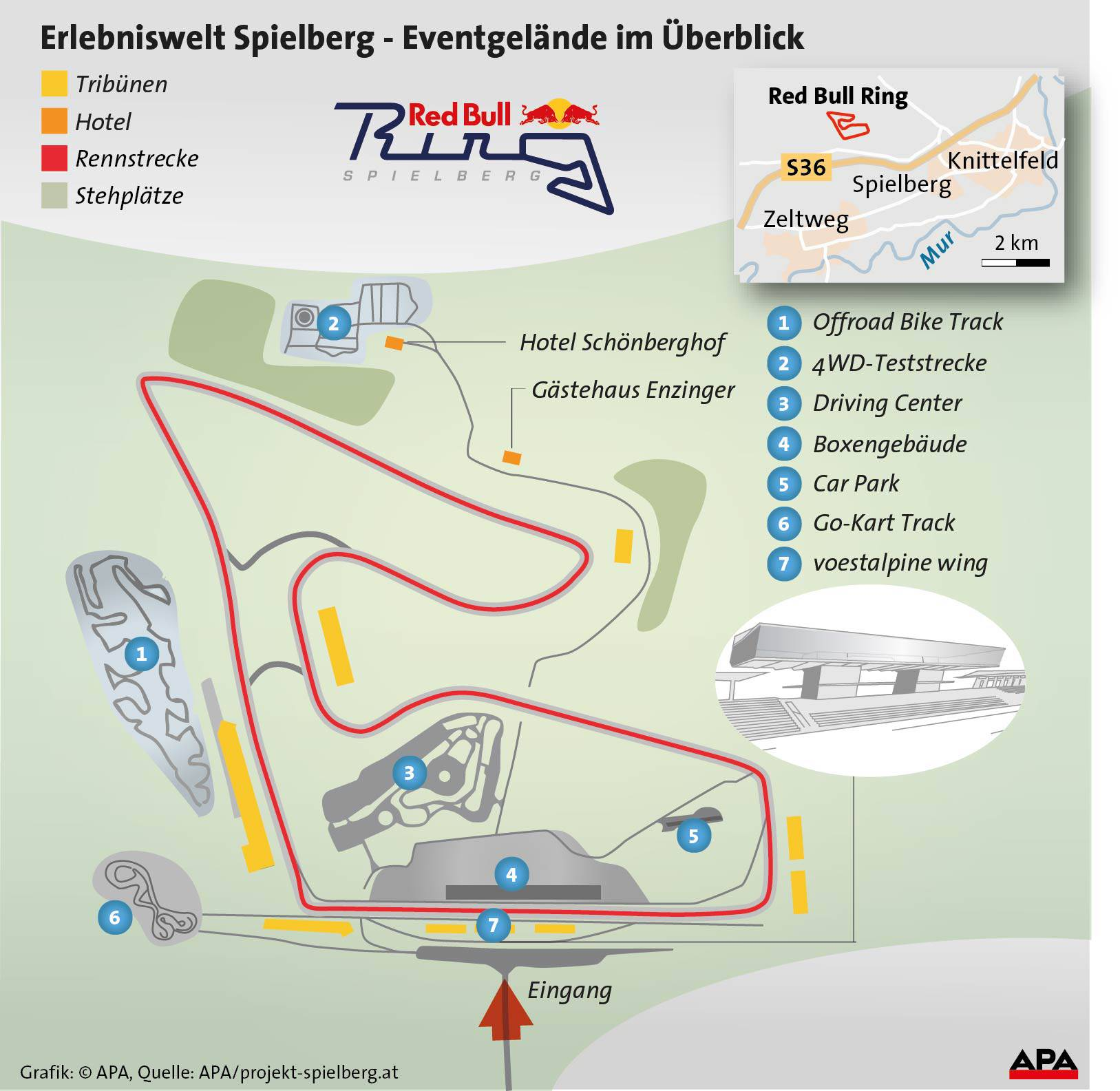 Formel 1: Programm und Infos zum Grand Prix von Österreich 2014