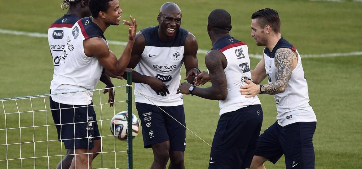 Frankreich bei der WM 2014