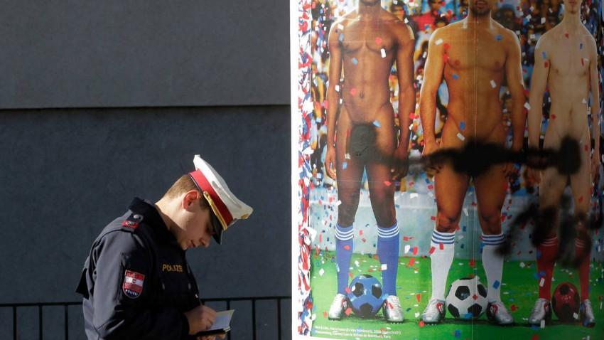Fußballer nackt? Skandal! Bild (c): Herwig Prammer / Reuters