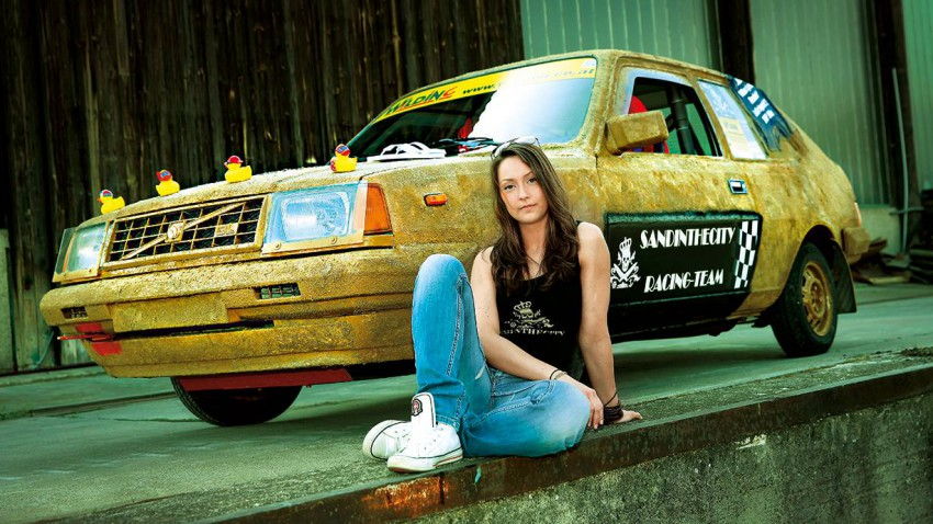 volvo 343 gl sand in the city 24 stunden nordring