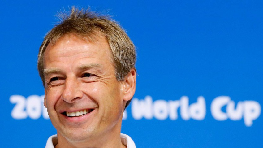 Jürgen Klinsmann in Brasilien 2014