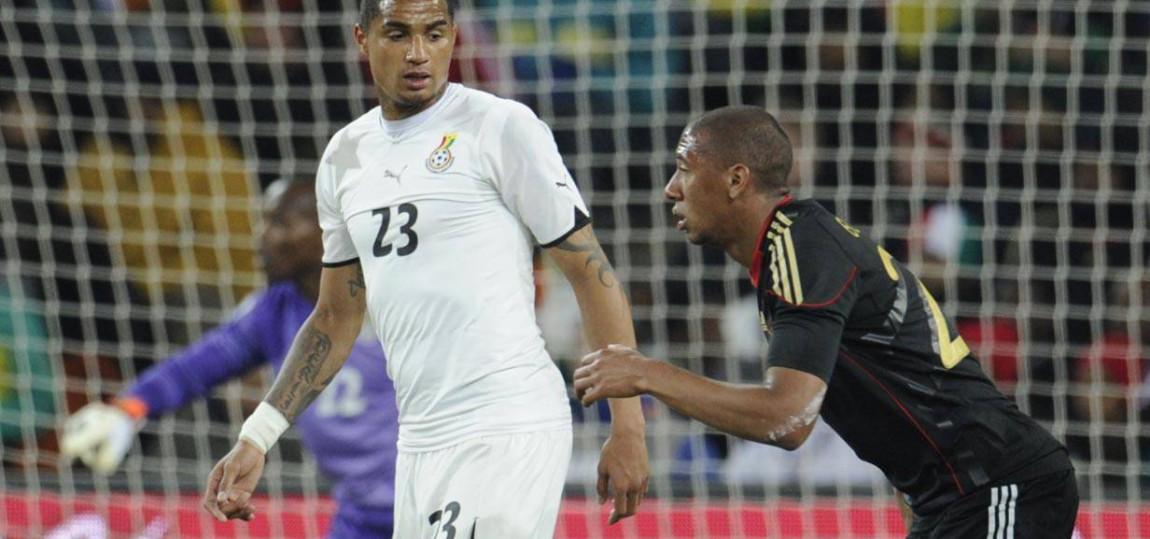Kevin Prince und Jerome Boateng bei der WM 2010
