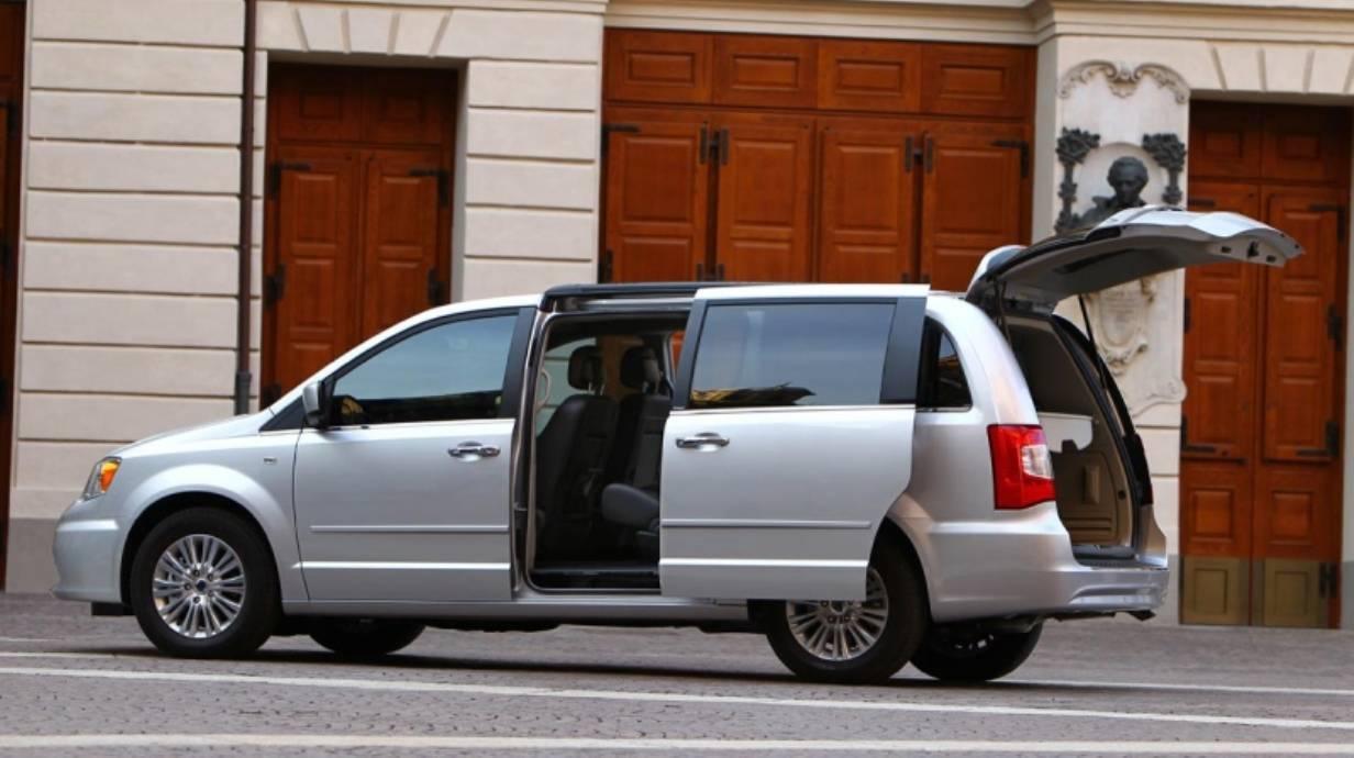 Lancia Voyager. © Bild: press-inform