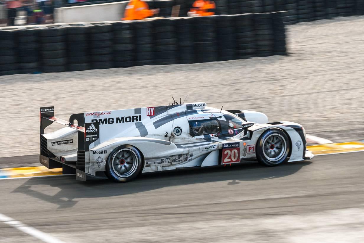 Porsche 919 Hybrid #20 in Le Mans 24h Rennen