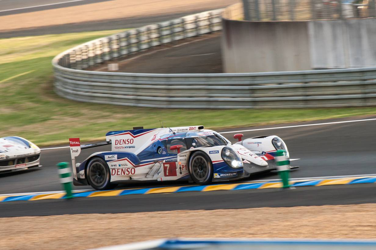 Toyota TS040 #7 | Le Mans Wurz Sarrazin Nakajima