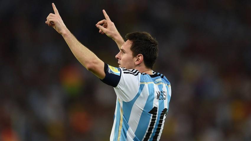 Messi selber erzielte erst 2 Tore bei 3 Weltmeisterschaften. © Matthias Hangst/Getty Images