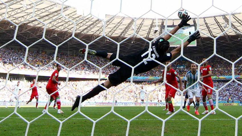 Tor von Lionel Messi gegen den Iran