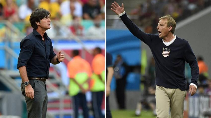 Löw und Klinsmann bei der wm 2014
