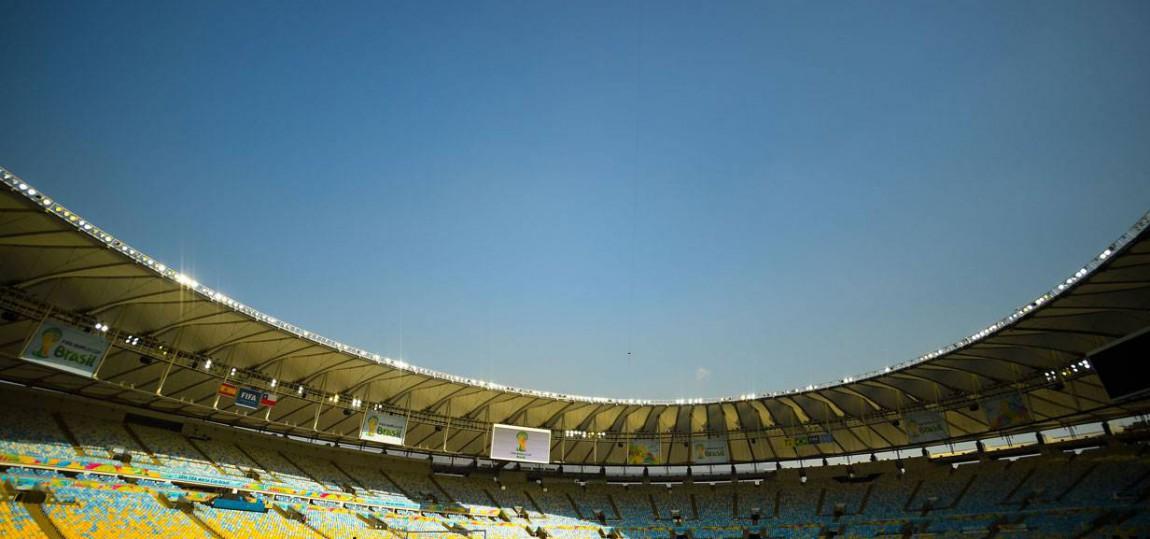 Maracana Stadion Brasilien 2014
