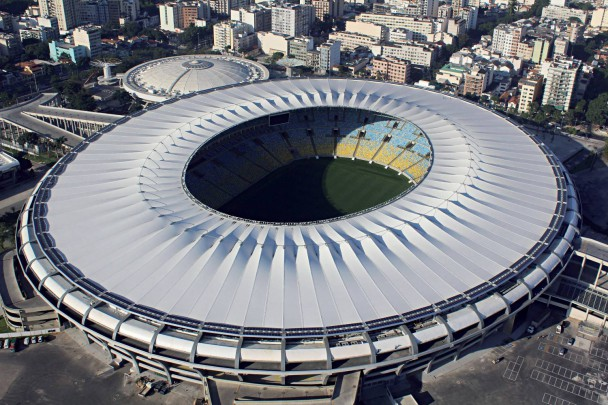 Das Maracanã Stadion 2014 / Bild: © CARLOS EDUARDO CARDOSO / dpa Picture Alliance / picturedesk.com