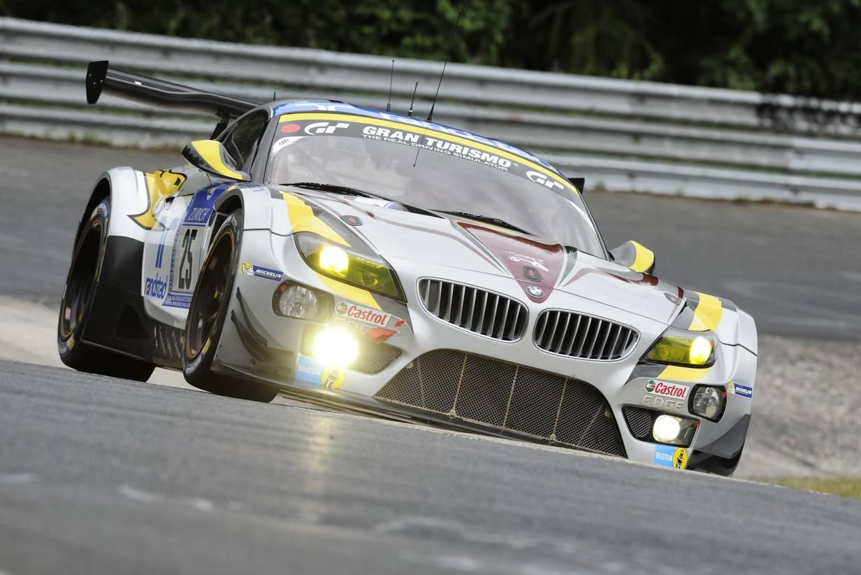 BMW Z4 GT3 Marc VDS 25 Uwe Alzen Maxime Martin Nordschleife 24h Nürburgring
