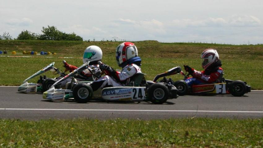 Mario Tomasini Kart Nachwuchs Rotax max Challenge Motorsport