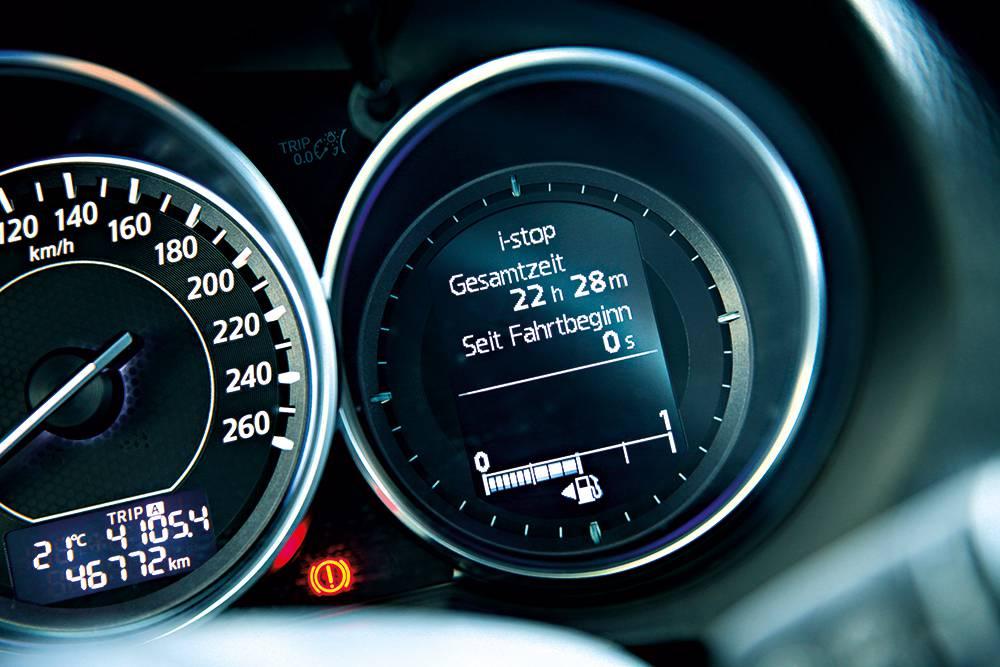 mazda6 sport combi 2014 tacho tachometer display