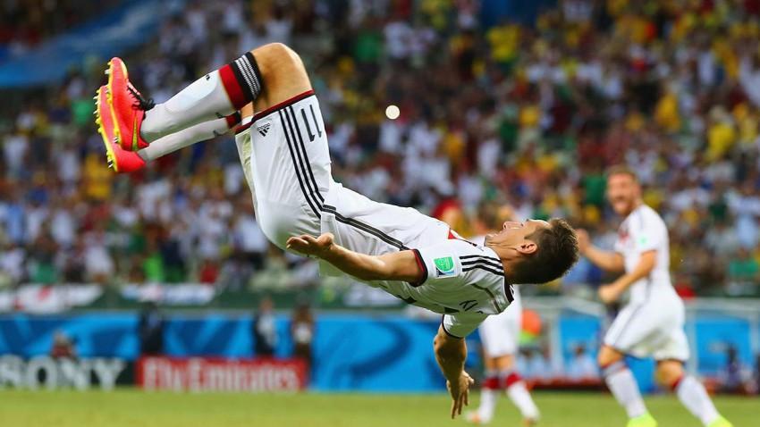 Miroslav Klose, schoss gegen Ghana sein 15. WM-Tor.  © Martin Rose/Getty Images