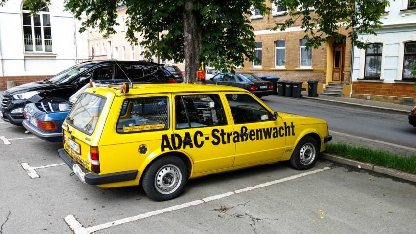Los geht's! Unser Kadett Caravan am Vorstart der ADAC Opel Classic Hessen Thüringen 2014.