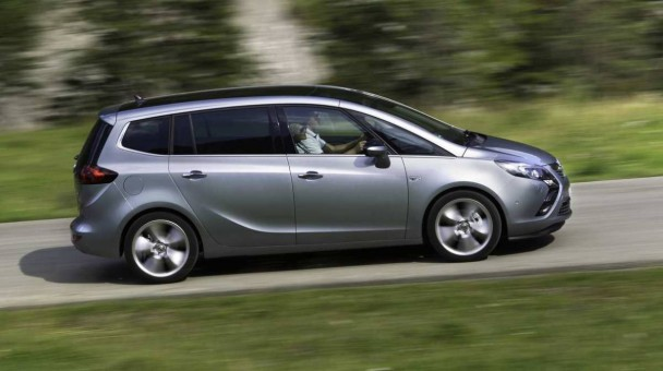 Opel Zafira Tourer. © Bild: press-inform