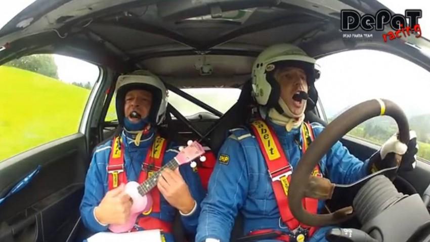 Rallyefahren in Österreich Teil zwei - Ukulele