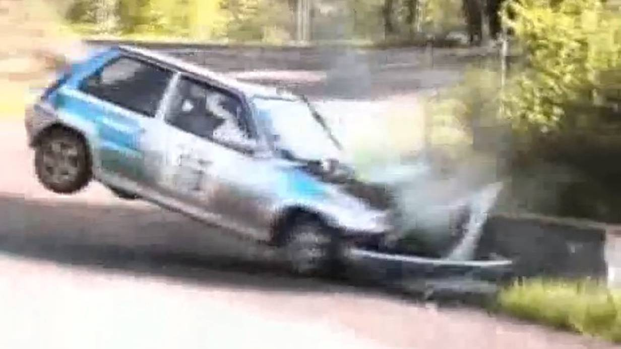 Renault 5 Turbo Gruppe B Crashcompilation Crash video