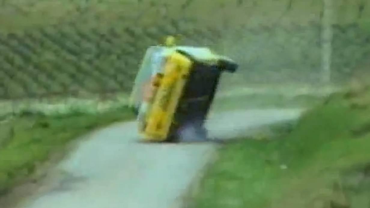 Renault 5 Turbo Gruppe B Crashcompilation Crash video