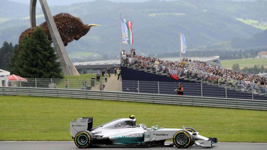Rosberg Red Bull Ring 2014