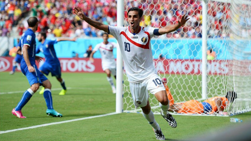 Ruiz Torjubel beim 1 zu 0