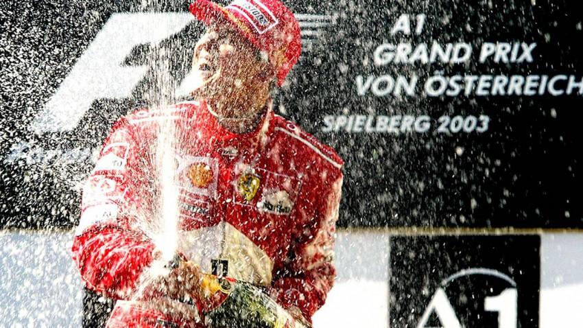 Formel 1 GP Österreich: Schumacher letzter Sieger