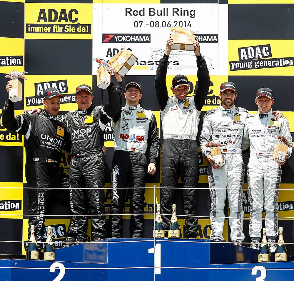 siegerehrung adac gt masters spielberg red bull ring
