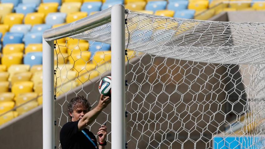 Erstmals wird bei der WM 2014 die Torlinientechnik verwendet. Bild (c): Sergio Moraes