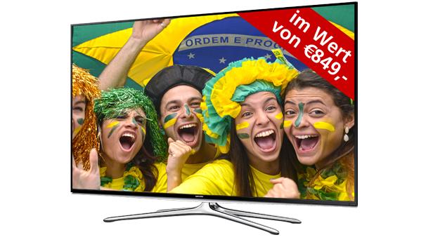 """Pünktlich zur Weltmeisterschaft: ein gratis 48"""" Full-HD LED TV"""