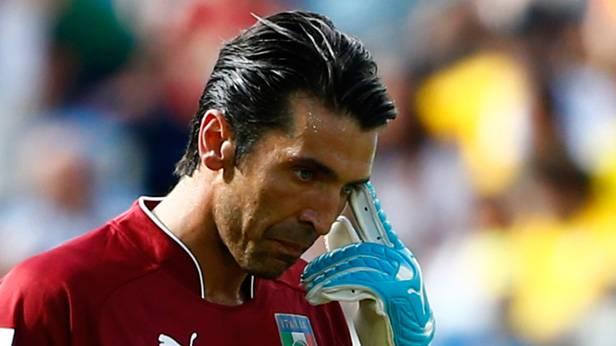 Nach Spanien, England und Kroatien scheidet die nächste europäische Fußballnation aus. Bild (c): Tony Gentile / Reuters