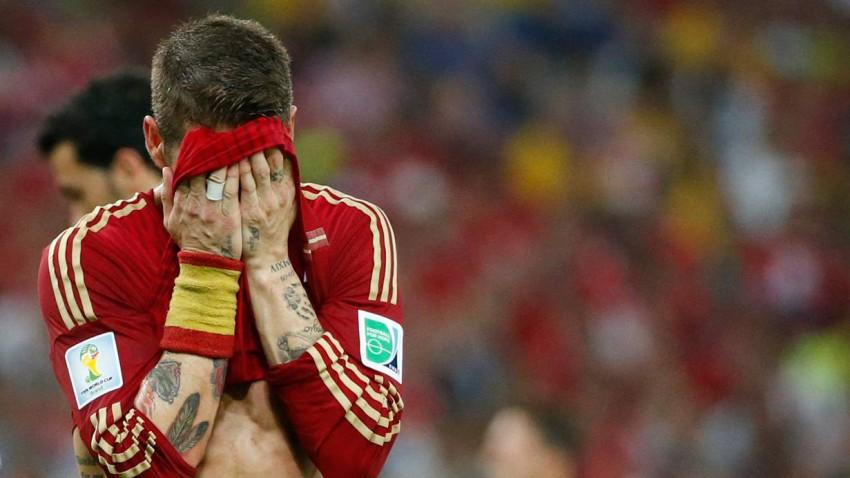 Der Weltmeister ist in der Vorrunde der WM 2014 ausgeschieden! Bild (c): Jorge Silva / Reuters