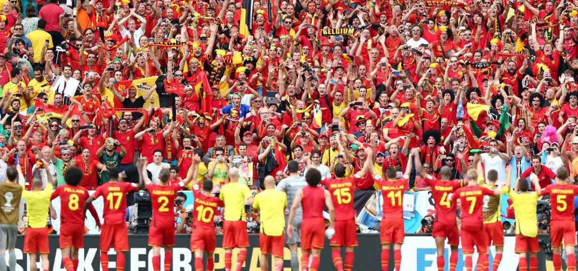 Belgien bei der WM 2014